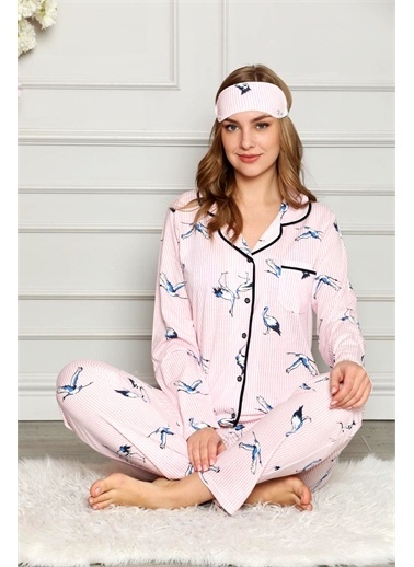 Nisanca Pijama Takım Pembe